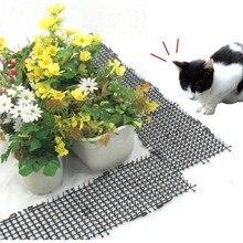 Садовые коврики для кошек против котов, отпугивающий коврик для собак, полоски для колючек, защищают кошек от безопасности, пластиковые колючки, сети для домашних животных от поставщиков