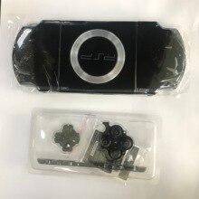 Miễn Phí Vận Chuyển Màu Đen Full Nhà Ở Vỏ Dán Mặt Lưng Ốp Lưng Sửa Chữa Thay Thế Cho Sony PSP 2000 2006 Tay Cầm Vỏ Có Nút Bấm
