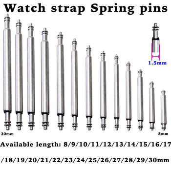 8 to 16 17 18 19 20 21 22 23 24 25 26 27 28 29 30mm Spring Bar for Watch Band Strap Pins Repair Tool Release Pin - discount item  40% OFF Watches Accessories