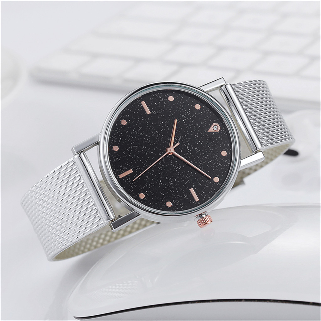 Fast delivery Business Women Watch Luxury Watches Quartz Watch Stainless Steel Dial Casual Bracele Watch Female Gift Cheap 5
