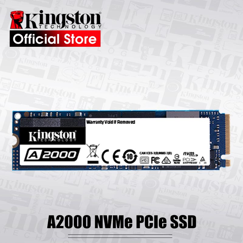 Kingston NEW A2000 NVMe PCIe M.2 2280 SSD 250GB 500GB 1TB Internal Solid State Drive Hard Disk SFF For PC Notebook Ultrabook|Internal Solid State Drives|   - AliExpress