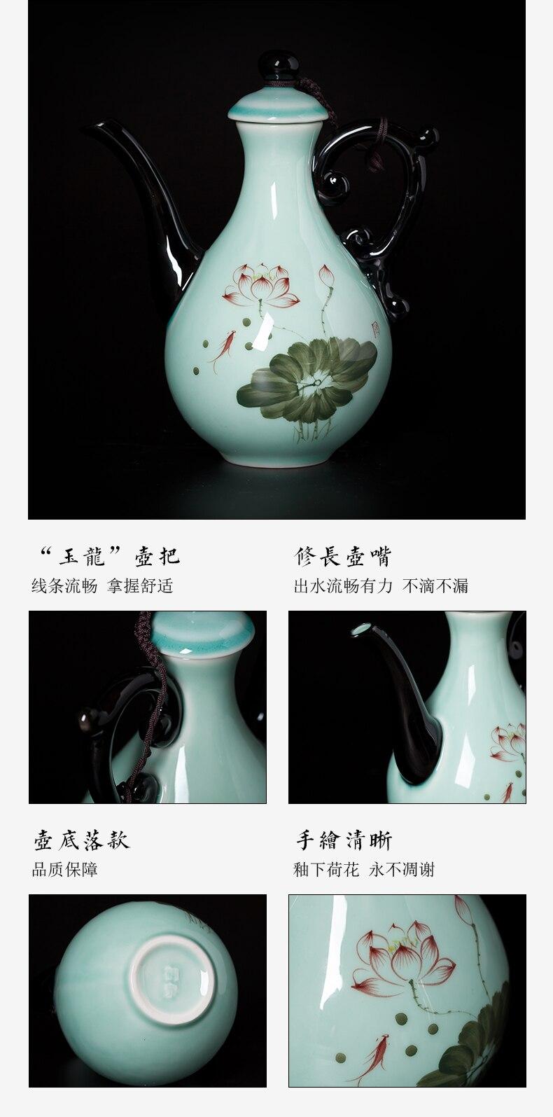Copo japonês de sakura eco amigável mão-pintado