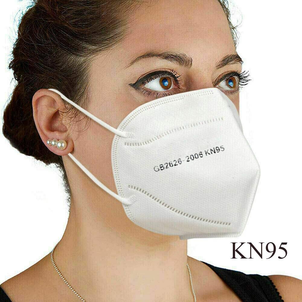 24H Ship 10PCS KN95 Mask Reusable Mask PM2.5 Four Layer N95 Face Mask Adult Anti-fog Haze Non-Woven Fabrics Mask N95 Dust Mask