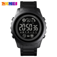 SKMEI 1626 Bluetooth Sport orologio da uomo APP promemoria chiamate orologio da polso Smart Watch frequenza cardiaca orologi uomo luminoso reloj inteligente