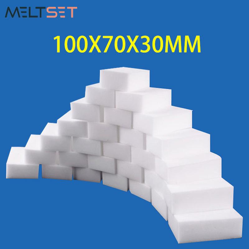 100x70x30mm Magic Sponge Eraser White Melamine Sponge Cleaning Sponge for Kitchen Office Bathroom Cleaner Cleaning Tools