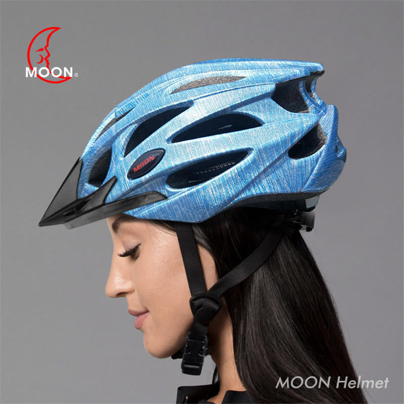 Cycling Reflective Helmet Moon Mtb Road Mountain Bike Helmet Night Riding Warning Bicycle Safety Helmet For Adult 5 image