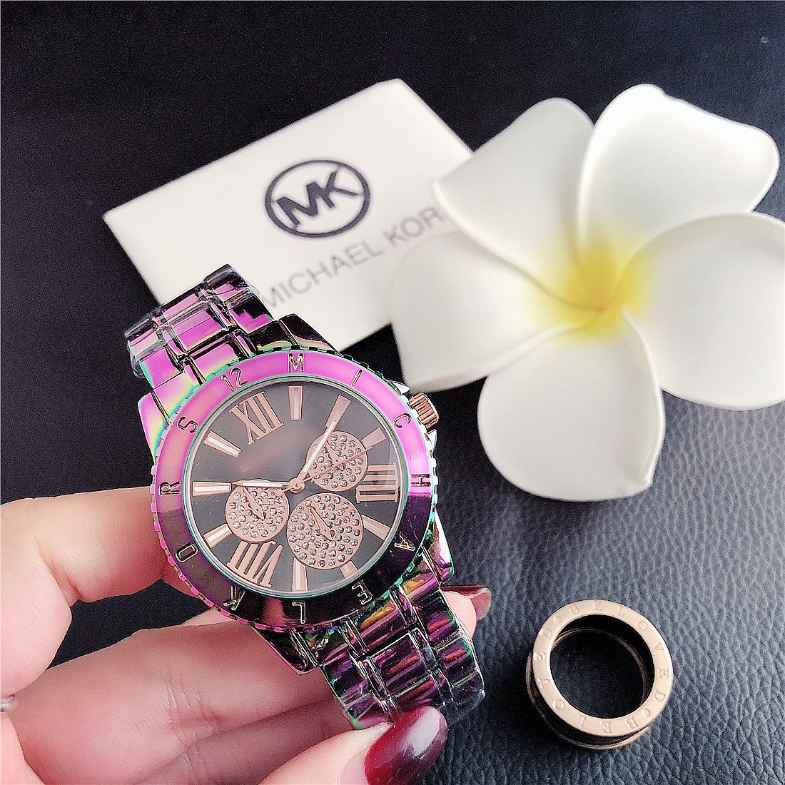 Fashion Diamond Watches Ladies Watch Luxury Quartz Wristwatch Women Wrist Watch Steel Belt Female Wristwatches Orologio Donna