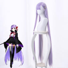 Anime Cosplay Pruik Lot Grand Order Cosplay Matou Sakura Pruik 120 Cm Lange Cosplay Pruiken Hittebestendige Synthetische Haar Dropshiping(China)