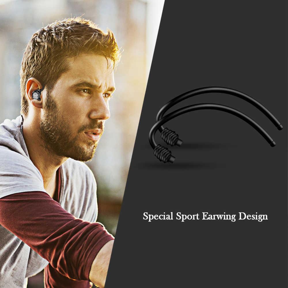 ANRY X6 シングル/ダブルワイヤレスの Bluetooth イヤホン電話ステレオスポーツインナーイヤーヘッドセット充電ボックス内蔵マイク
