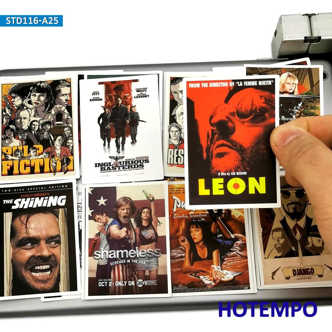 25 шт. Классические Постеры для фильмов наклейки целлюлоза фантастика Крестный отец для мобильного телефона ноутбук чемодан скейтборд модные наклейки|Наклейки|   | АлиЭкспресс