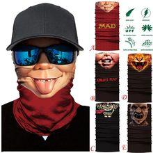 La máscara de cráneo pasamontañas de балаклава Mascara Moto de Kominiarka Cagoule rostro máscara cara fantasma de la motocicleta