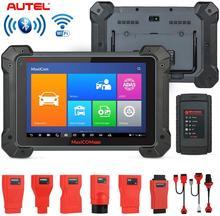 Autel MaxiCOM MK908 kablosuz teşhis tarama aracı ile ECU kodlama ADAS çift yönlü kontrol aktif test IMMO tuşları tüm sistemler