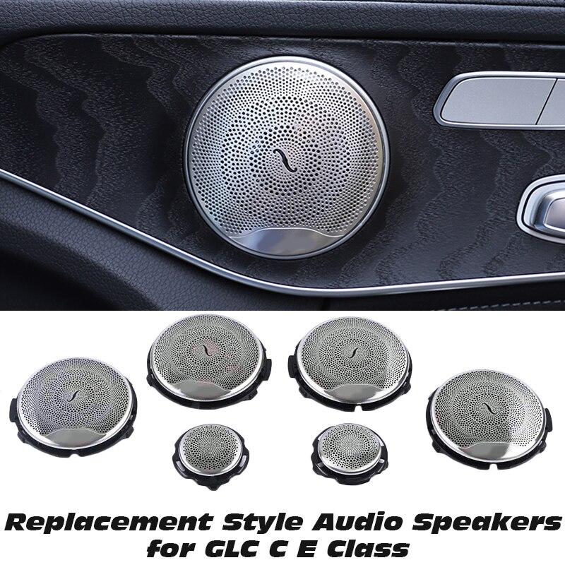 6 шт крышка динамика двери автомобиля для mercedes benz w213