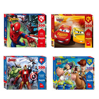 Genuine Toy Story 4 Marvel Avengers Spider Man Puzzle 200 Pieces Super Heroes Puzzle Games Adults Teenagers Kids Childen Toys