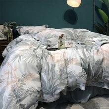 Juego de cama cómodo trend tree para adultos, funda de almohada, funda de edredón, funda de almohada, ropa de cama doble para el hogar