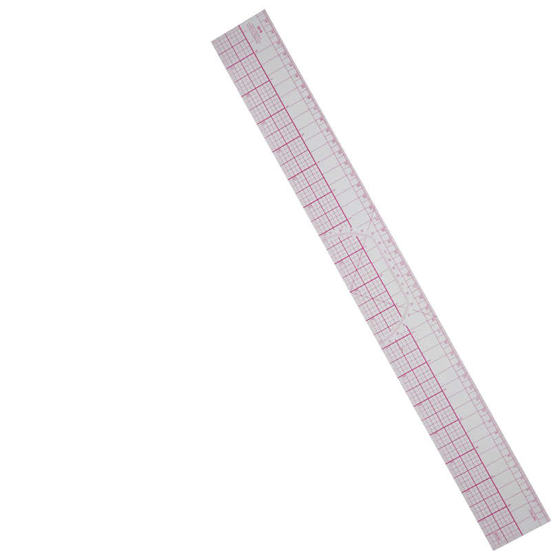 1pc Acrylic Clothing Ruler Portable Tailor Cloth Cutting Rulers Sewing Patchwork Feet Yardstick Ruler