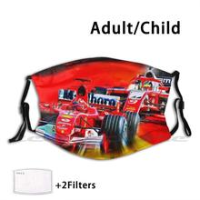 FILTER-MASK Schumacher Customized Michael Formula-2 Mick Motorsport-Motor Washable Trending