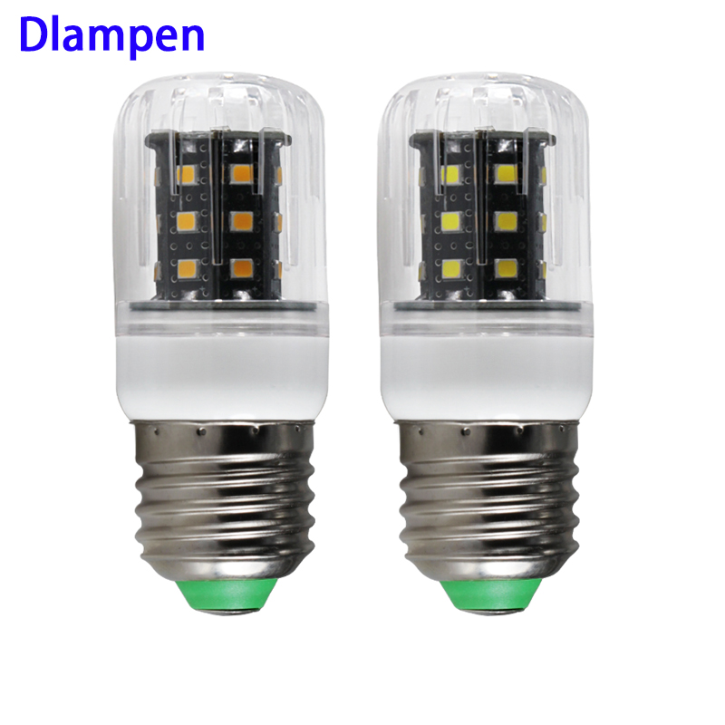 ampoule <font><b>led</b></font> e27 E14 <font><b>3W</b></font> Ac Dc <font><b>12v</b></font> 24v 36v low voltage small corn bulb smd 2835 high quality energy saving lamp 12 24 36 v volts image