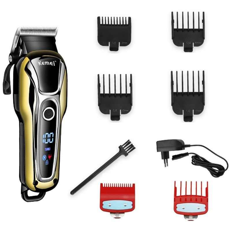Turbo professional hair clipper corded cordless haar trimmer für männer elektrische cutter haar schneiden maschine haarschnitt barber-tool