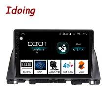 Автомобильный мультимедийный плеер Idoing, 10,2 дюйма, Android, gps, для Kia K5 Optima 3 TF 2015 2018, gps навигация, радио, видео плеер, no 2 din DVD