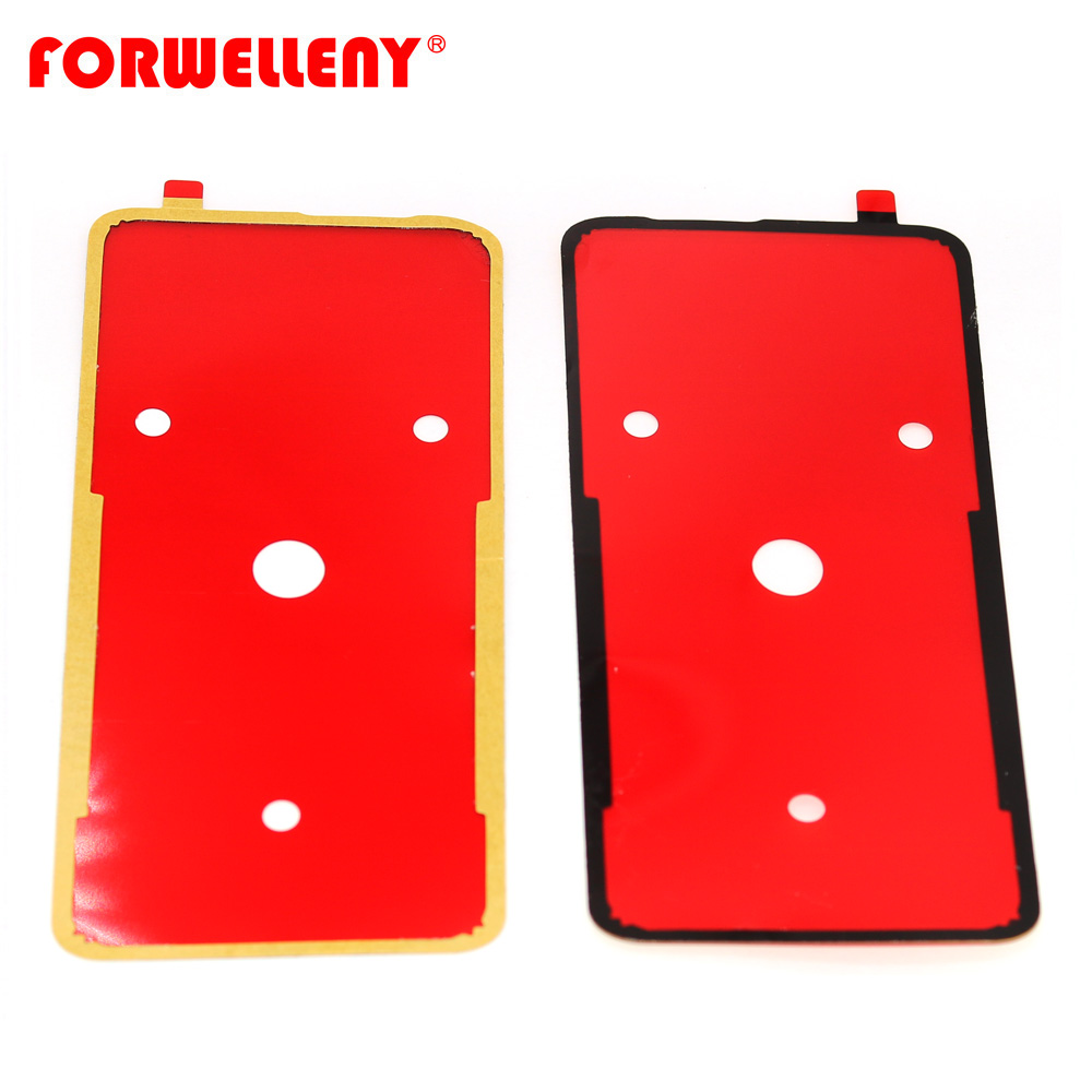 For Oneplus7 Oneplus 7 Pro Back Battery Door Glass Cover Adhesive Sticker Glue GM1910, GM1911, GM1913, GM1915, GM1920, GM1917