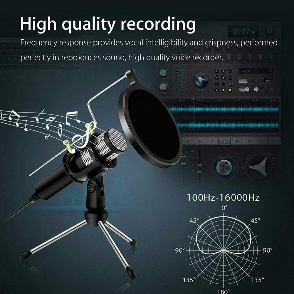 Anchor Microphone Podcast Condenser Mic Set USB Plug for Live game Live  Stream Broadcasting Recording Gaming