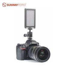 SUNWAYFOTO FL-96 светодиодный светильник двухцветный заполняющий светильник 96 лампочек корпус из алюминиевого сплава для студийной видеокамеры Dslr камеры Canon Nikon sony