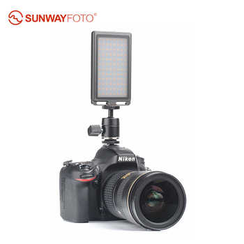 SUNWAYFOTO FL-96 LED light Bi-Color Fill Light 96 bulbs Aluminum Alloy Body for studio video Dslr camera Canon Nikon Sony - DISCOUNT ITEM  0% OFF All Category