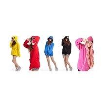 보컬 로이드 구미 미쿠 Gackpoid 린 루카 까마귀 Matryoshka hoody 모자 긴 소매 코스프레 까마귀 스웨터 자켓