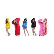 Толстовка Vocaloid GUMI MIKU Gackpoid Rin Luka, Матрешка с капюшоном и длинным рукавом, косплей, свитер, куртка