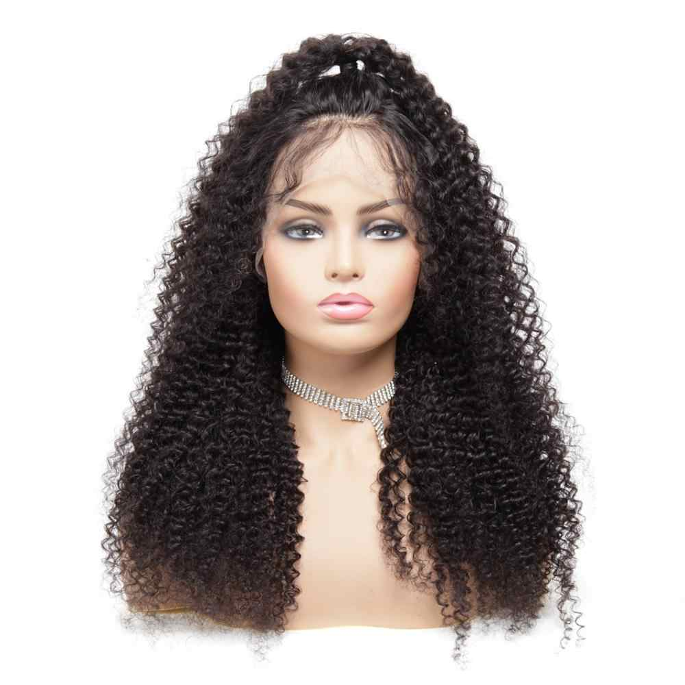 360 remy curly human hair Lace frontal wigs pre plucked short human wigs with baby hair women's wig raquel welch wigs Near Me