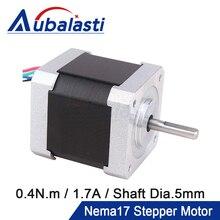 Stepper-Motor Aubalasti Motor-4-Lead Nema Engraving Milling-Machine 3d-Printer 2-Phase