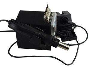 Image 3 - 新しいeruntop 8586デジタルディスプレイ電気はんだこて + diy熱風銃より良いsmdリワークステーション