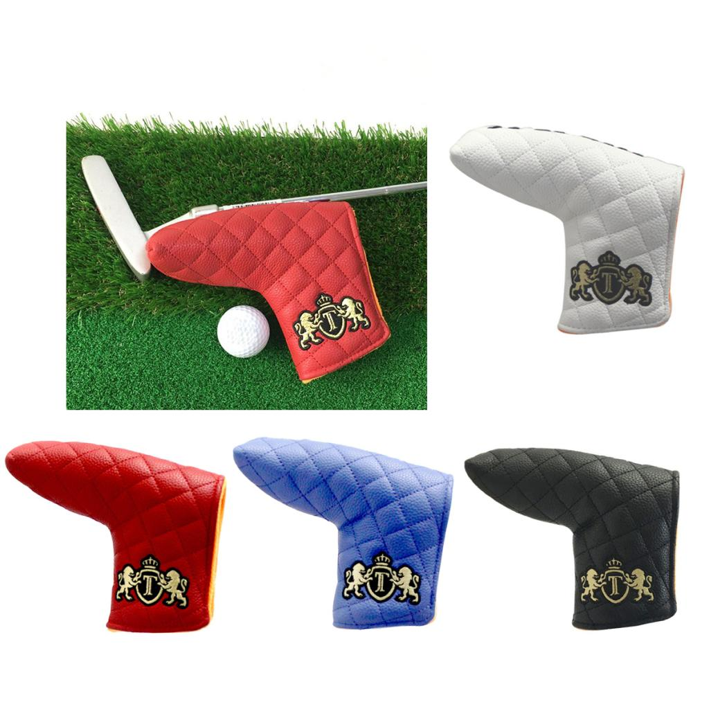 Golf Head Covers Putter Headcover,Golf Club Protector Bag Club Cover Sleeve Fit For Most Brands