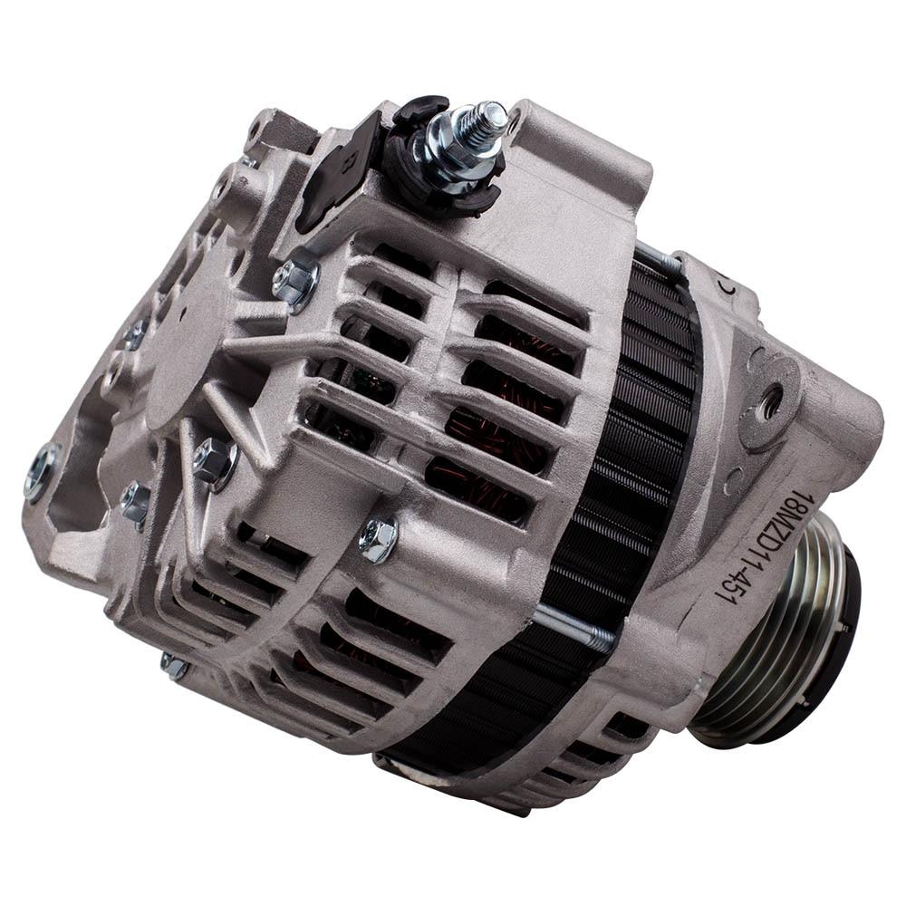 발전기 12V 100A 닛산 순찰 GU Y61 ZD30DDTi Navara D22 4WD 2001-2009 LR160-745 23100-VC100