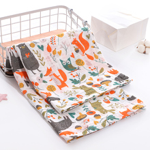 Get more info on the Soft 100% Cotton Muslin Baby Blanket Cartoon Animal Newborn Blankets Bath Gauze Towl Infant Muslin Swaddle Wrap Stroller Cover