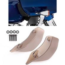 Motorrad Oberen Verkleidung Accent Rauch Verkleidung Air Deflektor Windabweiser Für Harley Road Glide FLTRX FLTRXS FLTRUSE 15 Up