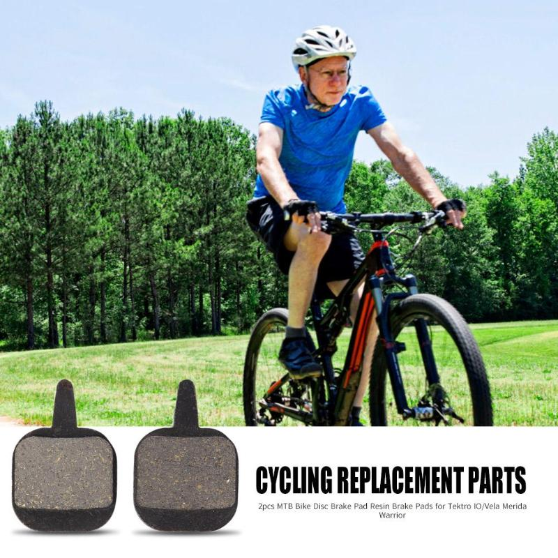 2PCS Black MTB  Bicycle High Quality Resin Disc Break Pads for Mountain Bikes UK