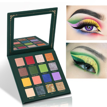 UCANBE Back To School Eyeshadow Palette 16 Color Glitter Shi