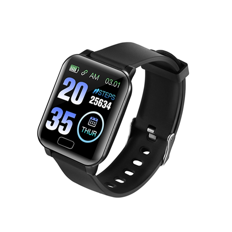 Hot Sale Y12 NFC Payment 24H Heart Rate Blood Pressure Monitor  Bluetooth Fitness Bracelet APP Push Sport Alert Smart Watch Men