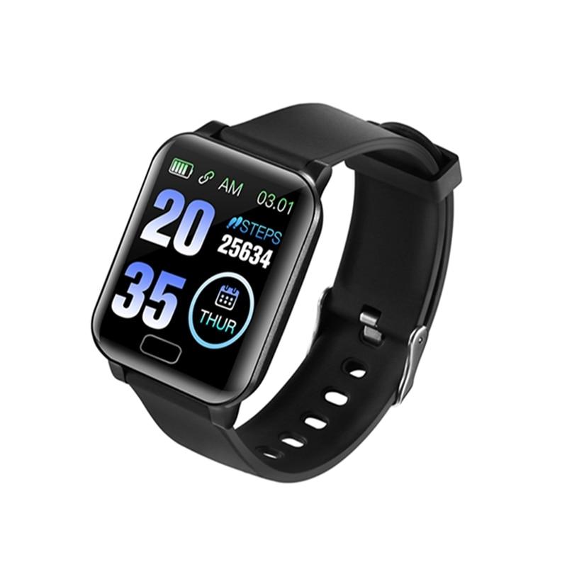 Hot Sale Y12 NFC Payment 24H Heart Rate Blood Pressure Monitor  Bluetooth Fitness Bracelet APP Push Sport Alert Smart Watch Men