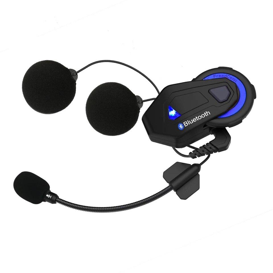 Motor Truck Industry FreedConn T-MAX Motorcycle Helmet Bluetooth Headset Built-in Wireless Walkie-talkie