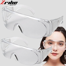 FOR Safety Goggles Safety Glasses Eye Protection Anti-Dust&Shock Goggles Transparent Eyepiece Chemical Gafas Proteccion Glasses leilin transparent models protective glasses anti shock gafas seguridad trabajo anti splashing anti uv cycling glasses