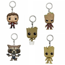Model-Toys Keychain Action-Figure Rocket Star Lord Guardians-Of-The-Galaxy Grut Gifts