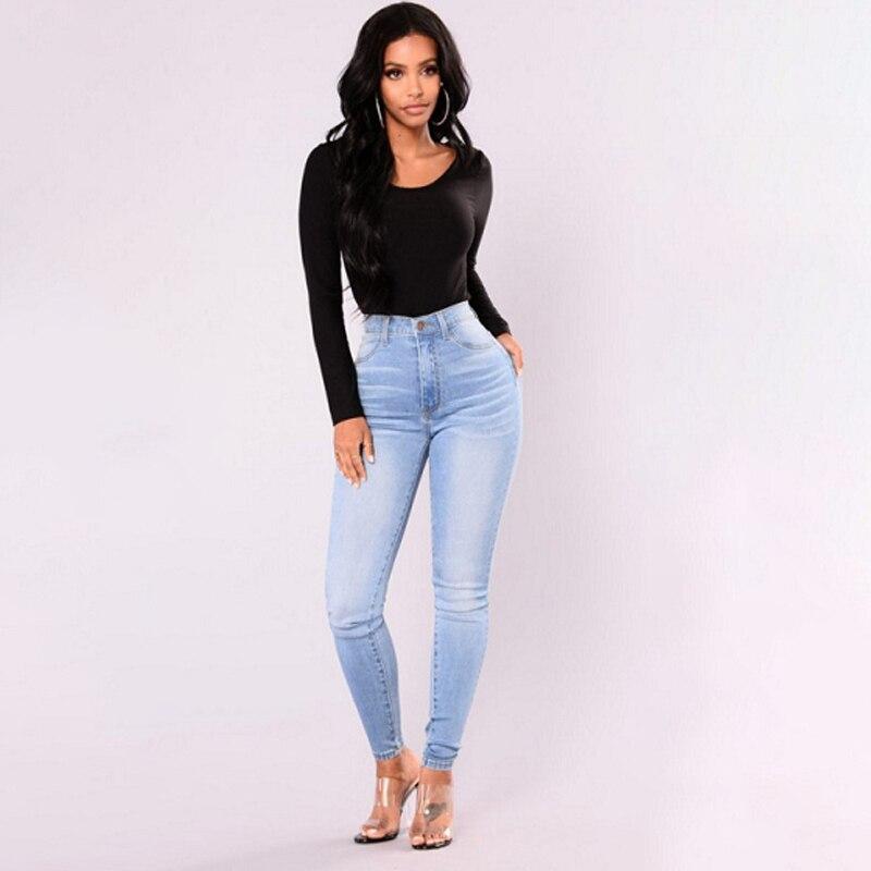Boyfriend Jeans For Women Mom High Waisted Jeans Blue Casual Pencil Trousers Korean Streetwear Denim Pants Vintage Ladies