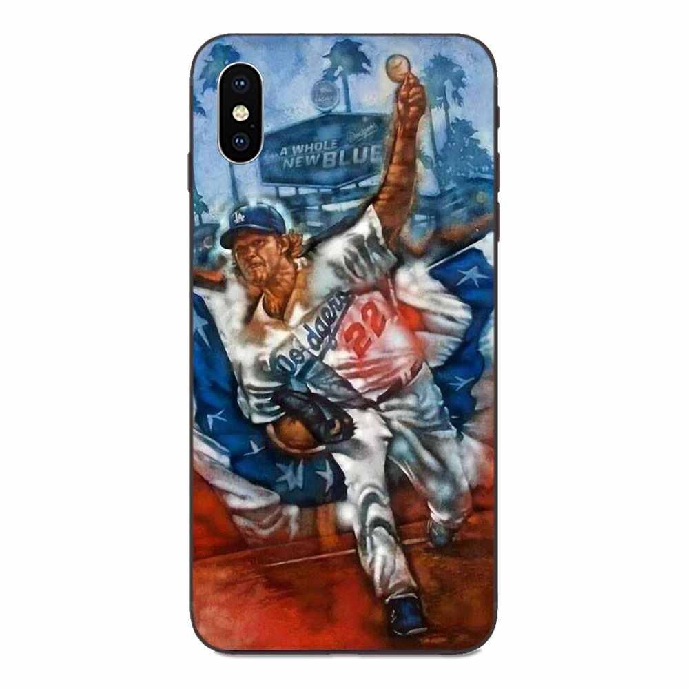 Clayton Kershaw เบสบอลสำหรับ Huawei Honor 5A 6A 6C 7A 7C 7X8 8A 8C 8X9 9X10 10i 20 Lite Pro TPU Case
