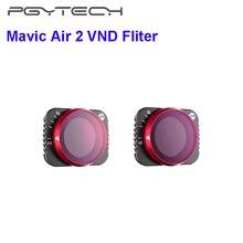 PGYTECH Mavic Air 2 VND фильтры для объектива ND 8 16 32 64/ND64 ND128 ND256 ND512 фильтр для объектива камеры для DJI Mavic Air 2 аксессуары