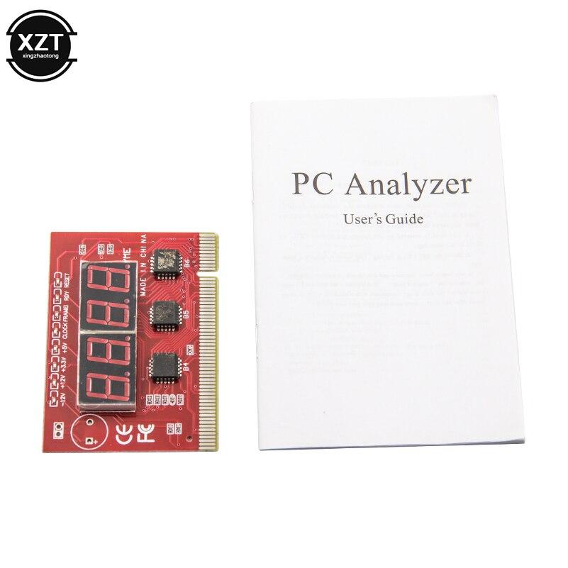 1 шт. мини компьютер PCI PCI E LPC почтовая карта ноутбука Материнская плата светодиодная 4 значная Диагностика самотестируемая карта анализатор ПК|Платы расширения| | АлиЭкспресс