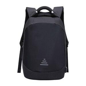 Image 1 - Homem impermeável anti roubo mochilas portátil modernista olhar resistente à água com porta de carregamento usb 15.6 notebook viagem mochila