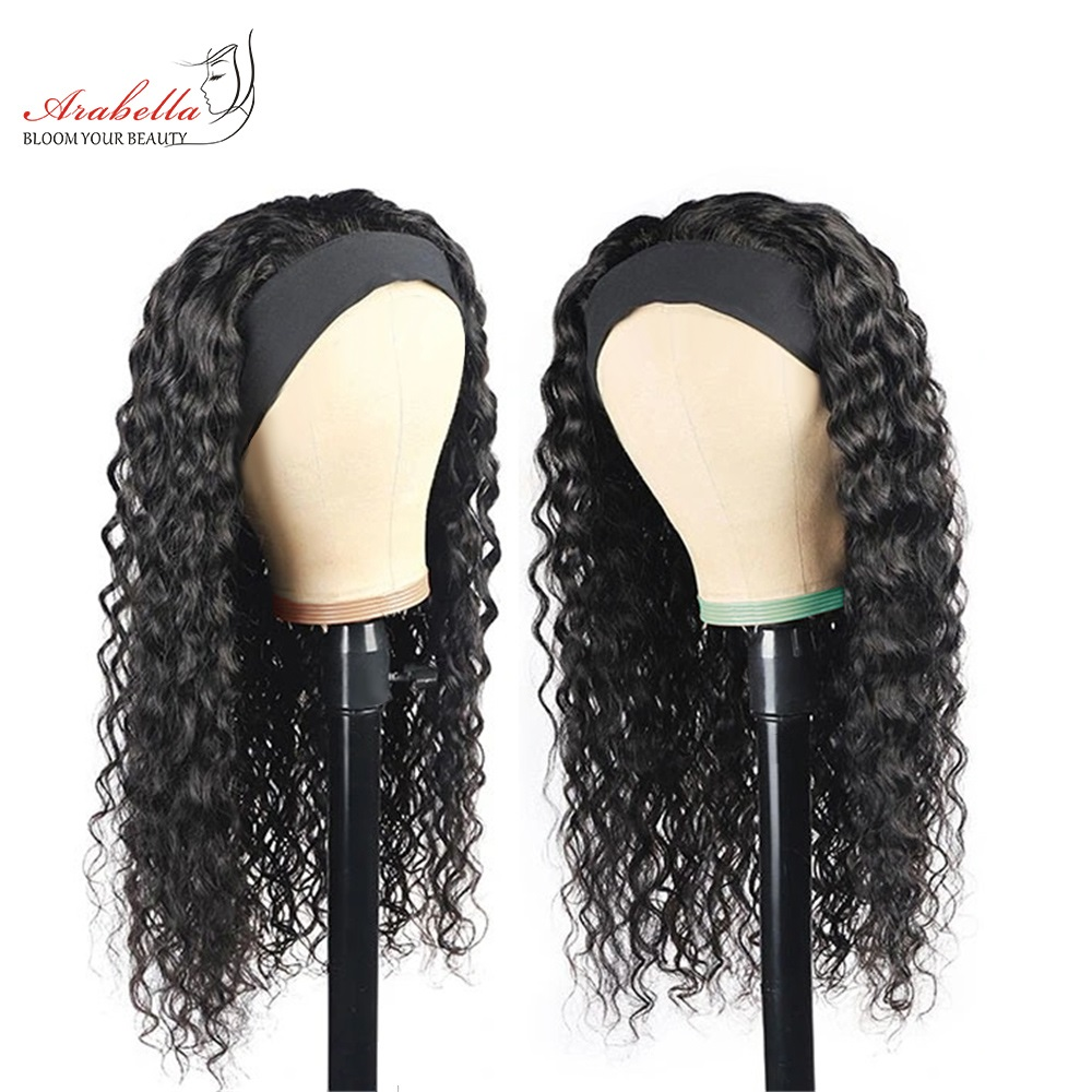 Headband Wig  Water Wave Wig  Hair Arabella Glueless Wig   Hair Wigs Headband Wig 1